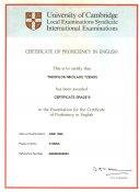 CPE - Certificate of Proficiency Sample Paper