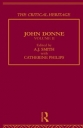 John Donne II: The Critical Heritage (Critical Heritage Series)