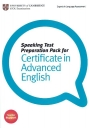 Speaking Test Preparation Pack for CAE